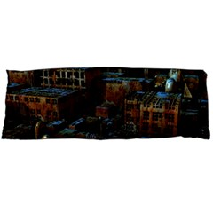 Building Ruins Old Industry Body Pillow Case Dakimakura (two Sides) by Pakrebo
