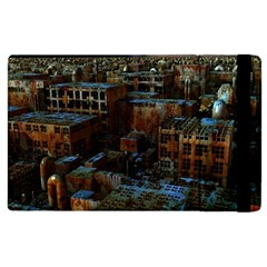 Building Ruins Old Industry Apple Ipad 2 Flip Case by Pakrebo