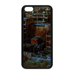 Building Ruins Old Industry Apple Iphone 5c Seamless Case (black) by Pakrebo
