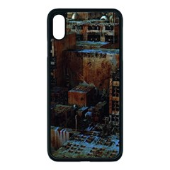 Building Ruins Old Industry Apple Iphone Xs Max Seamless Case (black)