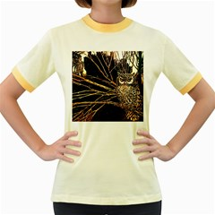 Who s Woods Are These?   Vintage   Women s Fitted Ringer T Shirt