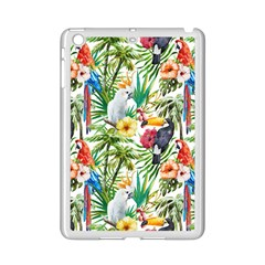 Tropical Parrots Pattern Ipad Mini 2 Enamel Coated Cases by goljakoff