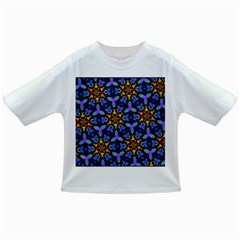 Blue Flowers Wallpaper Backgrounds Infant/toddler T Shirts