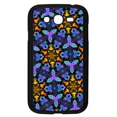 Blue Flowers Wallpaper Backgrounds Samsung Galaxy Grand Duos I9082 Case (black) by Pakrebo