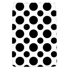 Polka Dots (large) Removable Flap Cover (s)