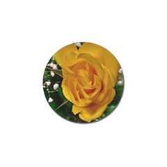 Yellow Rose Golf Ball Marker (10 Pack) by Riverwoman