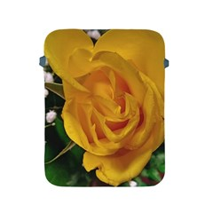 Yellow Rose Apple Ipad 2/3/4 Protective Soft Cases by Riverwoman