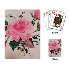 Margaret s Rose Playing Cards Single Design by Riverwoman