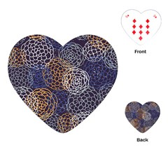 Traditinal Japanese Art Playing Cards (heart)