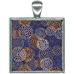 Traditinal Japanese Art Square Necklace