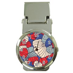 Traditinal Japanese Art Money Clip Watches