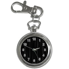 Dark Linear Abstract Print Key Chain Watches by dflcprintsclothing