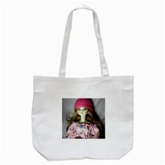 Cute In Pink Tote Bag (white)