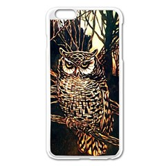 Who s Woods Are These?   Vintage   Apple Iphone 6 Plus/6s Plus Enamel White Case by WensdaiAddamns