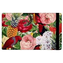 Tropical Bird Floral Apple Ipad 3/4 Flip Case