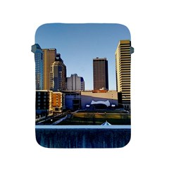 Columbus Skyline Apple Ipad 2/3/4 Protective Soft Cases by Riverwoman