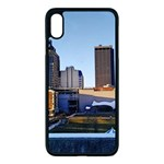 Columbus skyline Apple iPhone XS Max Seamless Case (Black) Front