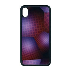 Fractal Rendering Background Apple Iphone Xr Seamless Case (black)