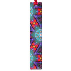 Ornament Colorful Background Color Large Book Marks by Pakrebo