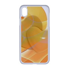 Lines Wave Heart Love Smile Apple Iphone Xr Seamless Case (white)