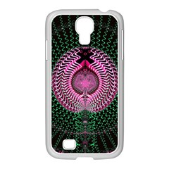Fractal Traditional Fractal Hypnotic Samsung Galaxy S4 I9500/ I9505 Case (white)