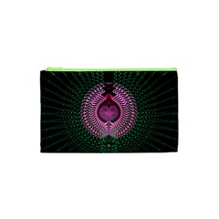 Fractal Traditional Fractal Hypnotic Cosmetic Bag (xs)
