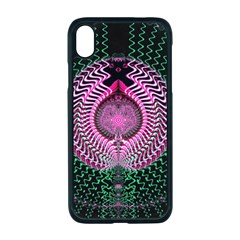 Fractal Traditional Fractal Hypnotic Apple Iphone Xr Seamless Case (black)