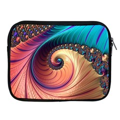 Fractal Multi Colored Fantasia Apple Ipad 2/3/4 Zipper Cases