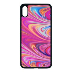 Seamless Digital Tile Texture Apple Iphone Xs Max Seamless Case (black)