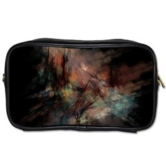 Abstract Fractal Digital Backdrop Toiletries Bag (one Side)