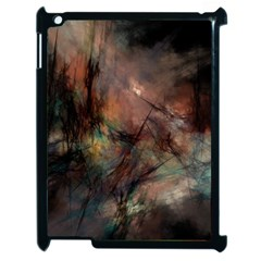 Abstract Fractal Digital Backdrop Apple Ipad 2 Case (black)