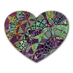 Background Design Art Artwork Heart Mousepads