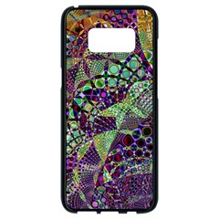 Background Design Art Artwork Samsung Galaxy S8 Black Seamless Case