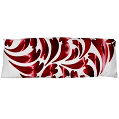 Abstract Geometric Art Fractal Body Pillow Case (dakimakura) by Pakrebo