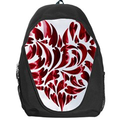 Abstract Geometric Art Fractal Backpack Bag by Pakrebo