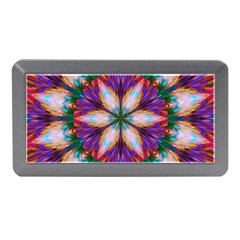 Seamless Abstract Colorful Tile Memory Card Reader (mini)
