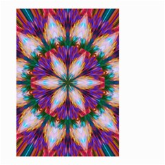 Seamless Abstract Colorful Tile Small Garden Flag (two Sides)
