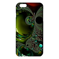 Fractal Intensive Green Olive Iphone 6 Plus/6s Plus Tpu Case