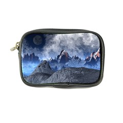 Mountains Moon Earth Space Coin Purse