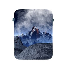 Mountains Moon Earth Space Apple Ipad 2/3/4 Protective Soft Cases by Pakrebo