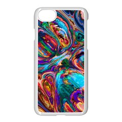 Seamless Abstract Colorful Tile Apple Iphone 7 Seamless Case (white)