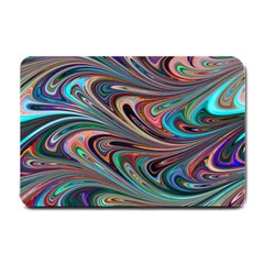 Seamless Abstract Marble Colorful Small Doormat