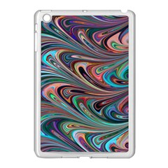 Seamless Abstract Marble Colorful Apple Ipad Mini Case (white)