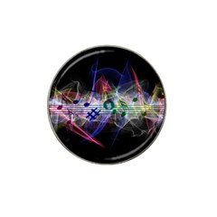 Brush Particles Music Clef Wave Hat Clip Ball Marker