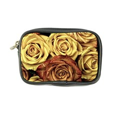Roses Flowers Love Red Plant Coin Purse