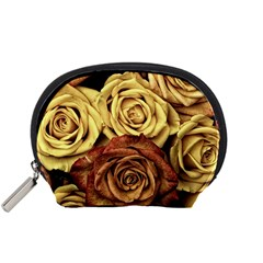 Roses Flowers Love Red Plant Accessory Pouch (small)