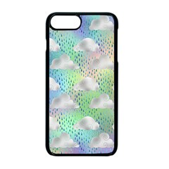 Colorful Iridescent Clouds Apple Iphone 7 Plus Seamless Case (black)
