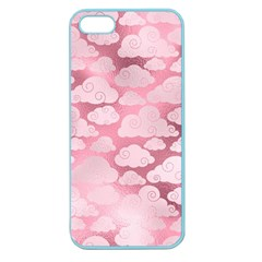Colorful Iridescent Clouds Apple Seamless Iphone 5 Case (color)