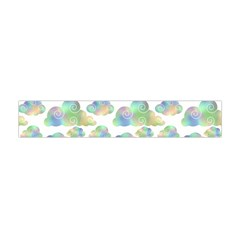 Colorful Iridescent Clouds Flano Scarf (mini) by tarastyle