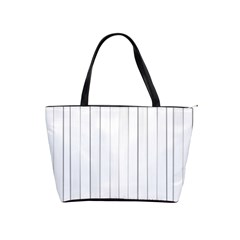 Bright Linear Abstract Print Classic Shoulder Handbag by dflcprintsclothing